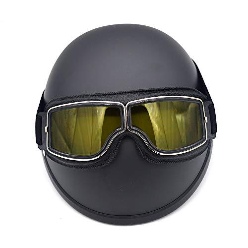バイクパーツセンターヘルメットハーフダックテールマットモットブラック(頭囲57-62cm)