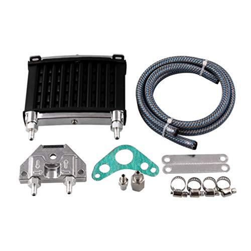 KIMISS Radiador de enfriador de aceite,Kit de Enfriador de Aceite de Motor de Motocicleta modificado para MSX125 YG125