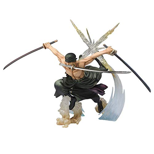 Siyushop Roronoa Zoro Battle Version Rengoku Onigiri Figura De Acción - Alto 6.6 Pulgadas