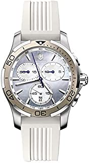 VictoriNox Casual Watch for Women, Rubber Band, 241352