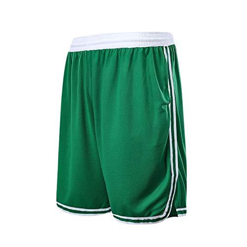 ZJFSL NBA Shorts Short De Baloncesto Bucks Short Running Hombre Pantalones Cortos Deporte Pantalon Corto Running Deporte Pantalones Cortos with Bolsillos