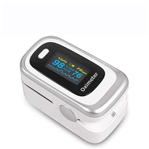 FDA Verwijst Naar Clip-On Oximeters,Vingerpulsoximeter,Ademhalingsfrequentie PI-Slaapmonitoring Met OLED-Scherm,Geschikt Voor Volwassenen En Kinderen,C5