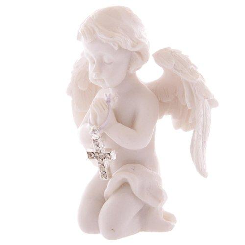 Schöner Engel, betende Engelchen-Figur, verzierter Kerzenhalter, Geschenk für Mütter, Kindermädchen, Omas