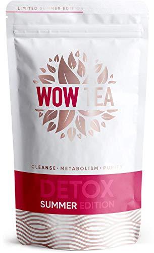 WOW TEA - 24 Stunden - Schnell wirkender Detox Tee | Tee Fettverbrennung Stoffwechsel | Stark Appetitzügler - Slim Fast Bio-Kräutertee | 150g, Made in EU