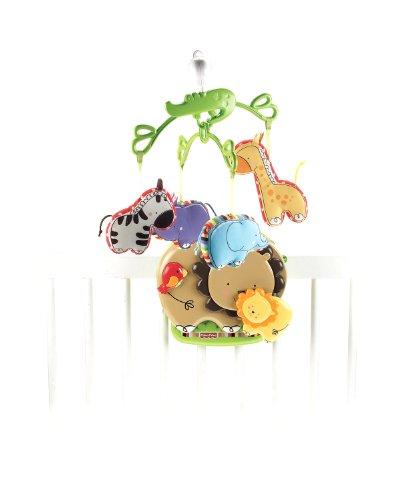 Fisher-Price - T6340 - Eveil - Chambre de bébé - Mobile du Zoo