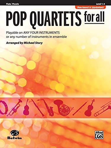 Pop Quartets for All: Flute, Piccolo (For All Series)