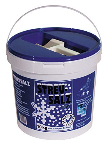 Streusalz 10 kg Eimer mit Schaufel Deutsche Salinen Qualität Auftausalz TOP Qualität Winter Salz