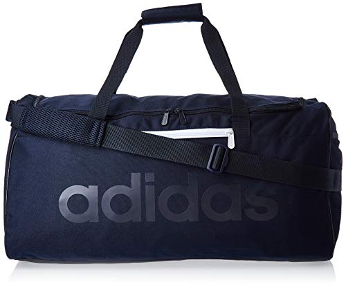 adidas Lin Core Duf M Bolsa Lona de Deporte, Unisex Adulto, Legend Ink/Legend Ink/Legend Ink, NS