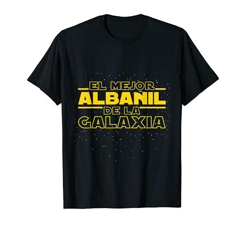 El Mejor Albañil De La Galaxia Camiseta