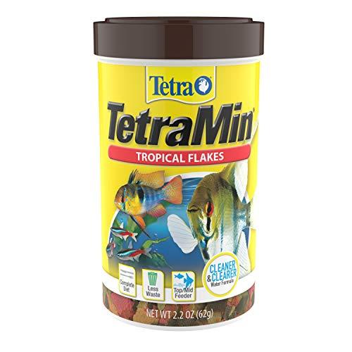 Tetra TetraMin Tropical Flakes 2.2 Ounces, Nutritionally Balanced Fish Food,...