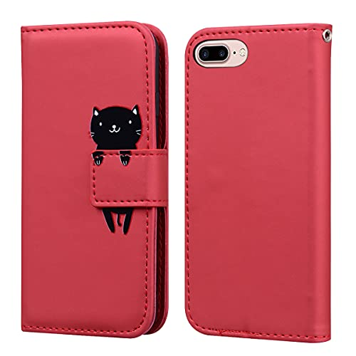 Norn iPhone 7 Plus leather Wallet Case,iPhone 8 Plus Cartoon Phone Case...