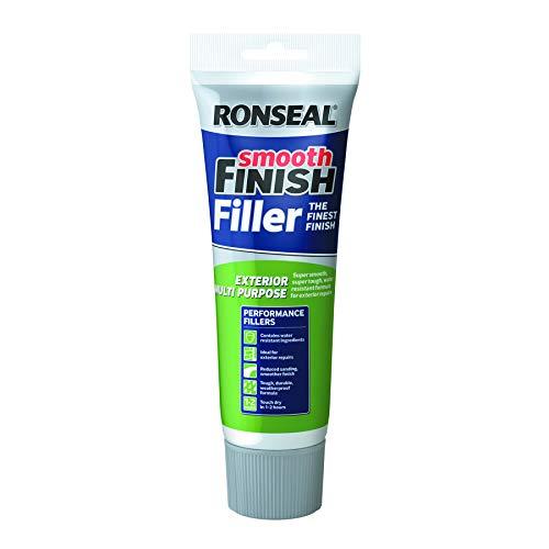 Ronseal RSLEF300 Tube d'enduit de rebouchage multiusage pour extérieur Fini Lisse 330g