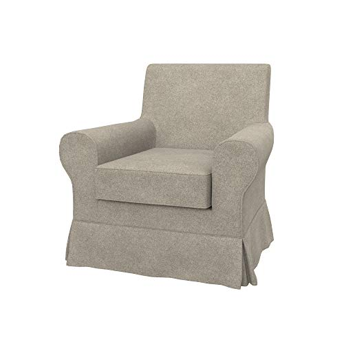 Soferia Funda de Repuesto para IKEA EKTORP JENNYLUND sillón, Tela Strong Taupe, Beige