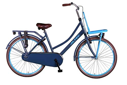 Hoopfietsen 26 Zoll Hollandrad Mädchen Altec Urban Single Speed Schwarz 46 cm Rahmengröße