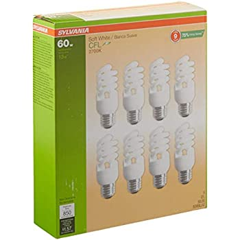 GE Lighting 87466 Reveal Energy Smart Bright from The Start CFL 15-watt 660-Lumen R30 Indoor Flood Light Bulb with Medium Base
