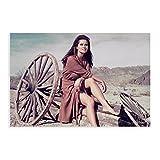 Schauspieler Claudia Cardinale Art Foto 3 Leinwand Poster