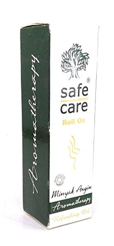 Safe Care Roll on Refreshing Oil Aromatherapy, 10 Ml (Pack of 12)