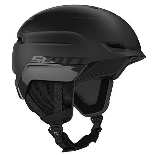 Scott Chase 2 Plus Helmet Schwarz, Ski- und Snowboardhelm, Größe M - Farbe Black