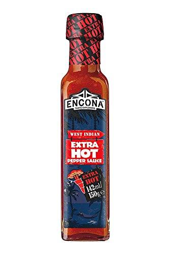 Encona Extra Hot Pepper Sauce 142ml