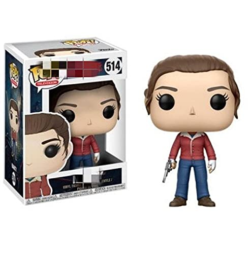 Pop Figures Stranger Things Nnacy Eleven With Eggos 10Cm, Action Figure Q Edition For Car Decoration