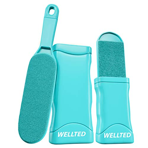WELLTED 2021 Updated Pet Hair Remover Brush - Lint Brush - Fur Remover - Fur & Lint Removal - Dog &...