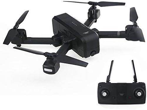 WOSOSYEYO Z5 Dual GPS RC Drohne Quadcopter mit 1080P WiFi Weißwinkel FPV Einstellbare Kamera Bild Follow Me Geste Selfie Tap Flight (Schwarz