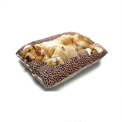 Hundehaustierbett Sehr Weicher Plüsch, Wasserdichtes Oxford-Tuch, Komplett Abnehmbares Design, Leicht Zu Reinigen, Geeignet Für Haustiere Innerhalb 20-70 Kg,Large