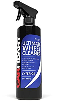 Carfidant Wheel Cleaner Spray Premium Rim & Tire Cleaner - Safe for All Wheels and Rims! - Removes Brake Dust! - Safe for Aluminum Alloy Mag Chrome Painted Clearcoated Polished Plast