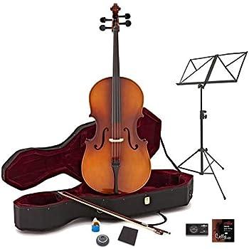Violonchelo de 3/4 + Pack de Principiante de Gear4music - Acabado Antiguo: Amazon.es: Instrumentos musicales