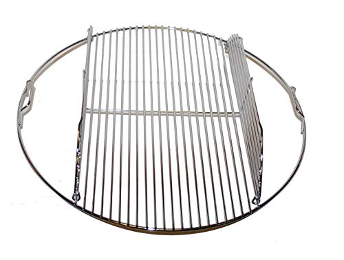 Weber 80629 21.5' Hinged Cooking Grate for 22-1/2 Grills.