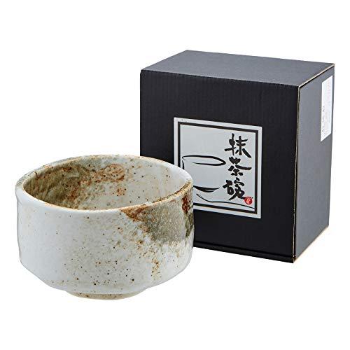 YUKI-SHINO-WAN Matchaschale Keramik Teeschale für Matcha aus Japan Ø 12,2 cm H. 7,7 cm
