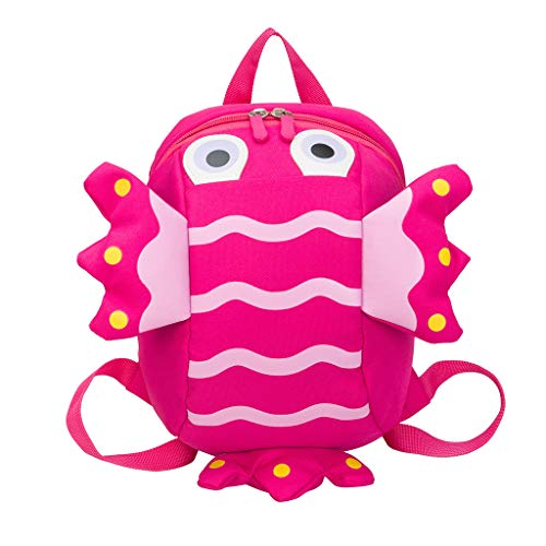 School Bags For Kids,Fashion Children's Cute Wild Cartoon Anti-Lost Backpack Kindergarten Bag