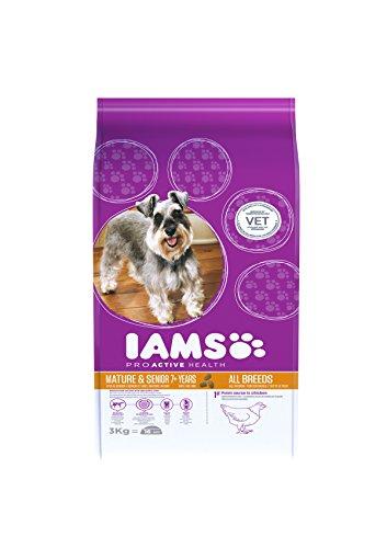 Iams Kitten Croquettes (avec de Nombreux Poule, pour Chaton jusqu'à 12 Mois, Contient de Nombreux hochwertiges tierisches Protein), 2,55 kg Sacs