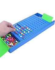 Amiispe Intellektuell utveckling Brädspel Skrivbord Mastermind Brain Teaser Brädspel Klassiska kodnamn Sprickspel, Super Mastermind Spel Kul Intelligent 3D Brädspel, Barn Spel