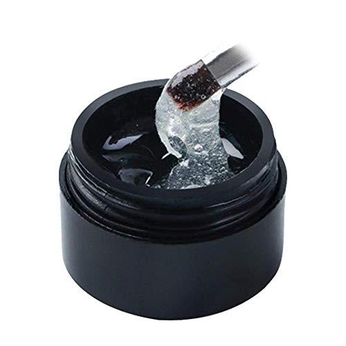 Goodtimera - Gel reparador para uñas agrietadas, reparación de uñas agrietadas, Gel de Pegamento para Fibra de uñas, Nuevo Pegamento para reparación de Grietas