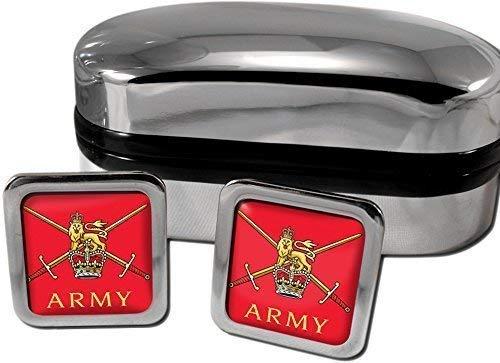 Armée Britannique Manchette Cadeau Homme