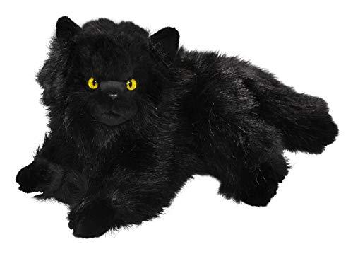 Carl Dick Katze, Perserkatze schwarz aus Plüsch ca. 30cm 3474