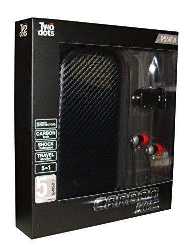 Two Dots - Starter Kit 5 En 1 Carbon (PS Vita)