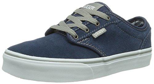 Vans Vans Y ATWOOD (SUEDE) PACIFIC, Unisex-Kinder Sneakers, Blau ((Suede) Pacific F1W), 34 EU (2.5 UK) (3 US)