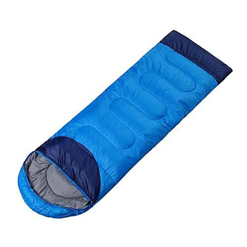 Outdoor-Fans, Schlafsäcke Für Erwachsene, Kaltverdampfende Einzelausrüstung Freizeitreisen Im Winter Winddicht (Farbe : Light, Size : 1.1kg)