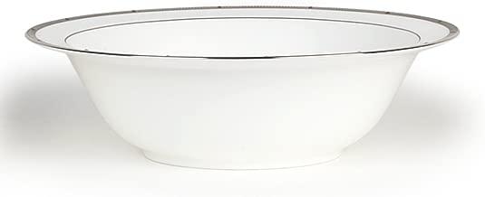 Noritake Rochelle Platinum Round Vegetable Bowl, 9-1/2-inches, 32-ounces