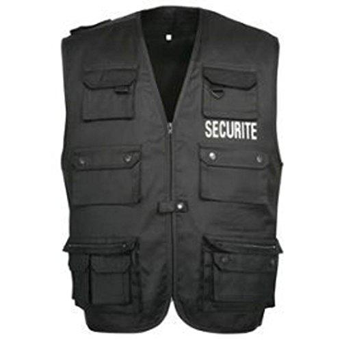 City Guard Gilet Reporter Noir SECURITE