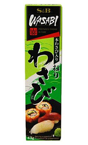 [ 43g ] S&B Wasabi Paste (Kren / Meerrettich Paste mit japanischem Wasabi)