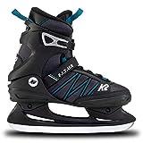 K2 Skates Herren Schlittschuhe F.I.T. Ice — Black - Blue — EU: 43.5 (UK: 9 / US: 10) — 25E0030