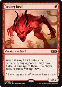 Magic: The Gathering - Vexing Devil - Ultimate Masters - Rare