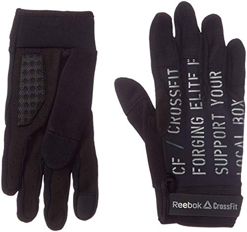 Reebok Crossfit Womens Training Gloves - Black-L