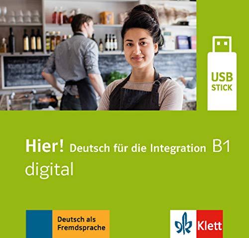 Hier! B1 digital: Deutsch für die Integration. Lehrwerk digital auf USB-Stick
