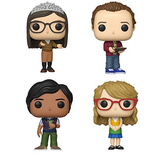 Funko TV: Pop! Big Bang Theory Series 2 Collectors Set 2 - Amy, Stuart, Raj, Bernadette