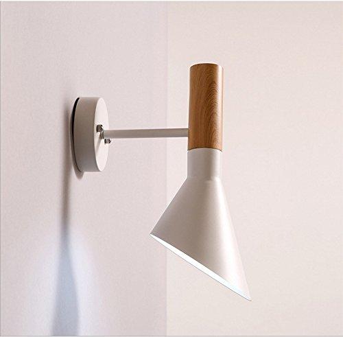 Industriële wandlamp hanglampen moderne, minimalistische led-wandlamp van aluminium voor slaapkamer met nachtkastje