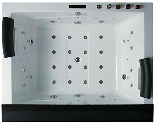 Whirlpool Badewanne C653 Whirlwanne Vollausstattung mit Heizung - 2